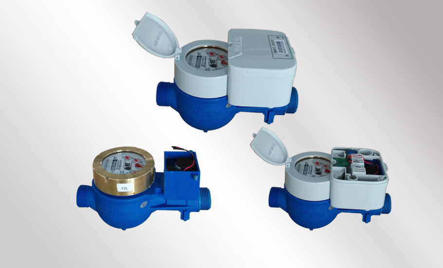 Detachable NB remote transmission remote control water meter