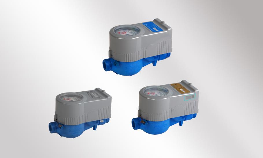 Rotor-type LoRa remote water meter